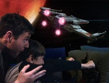 Disney / Star Wars<br>3D Tie-Fighter Animation